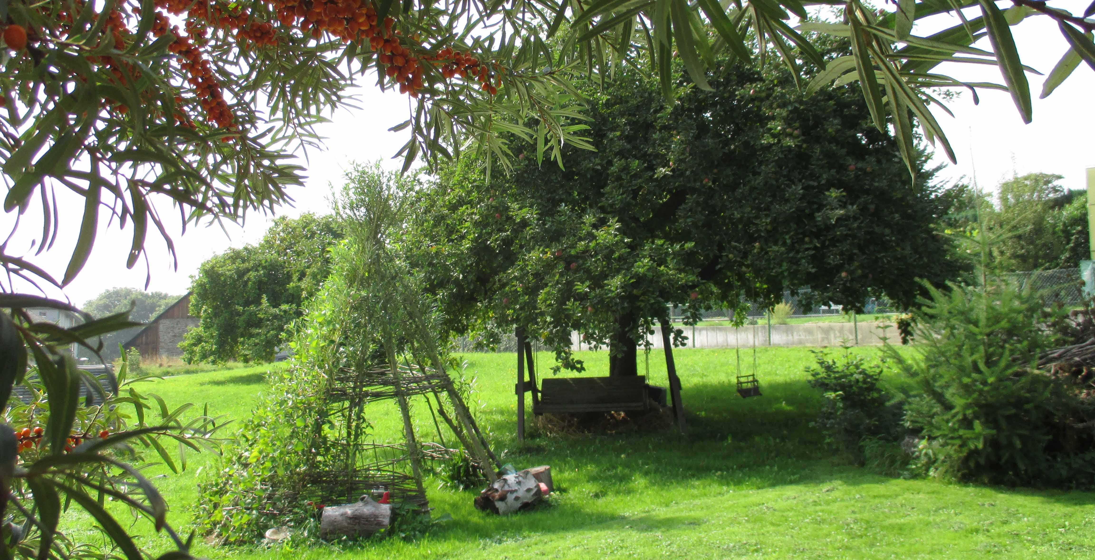 Ein großer Garten für Jung und Alt